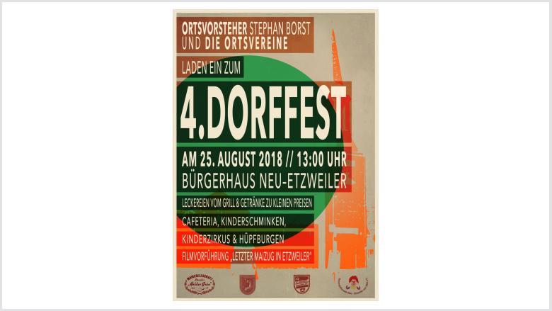 4. Etzweiler Dorffest
